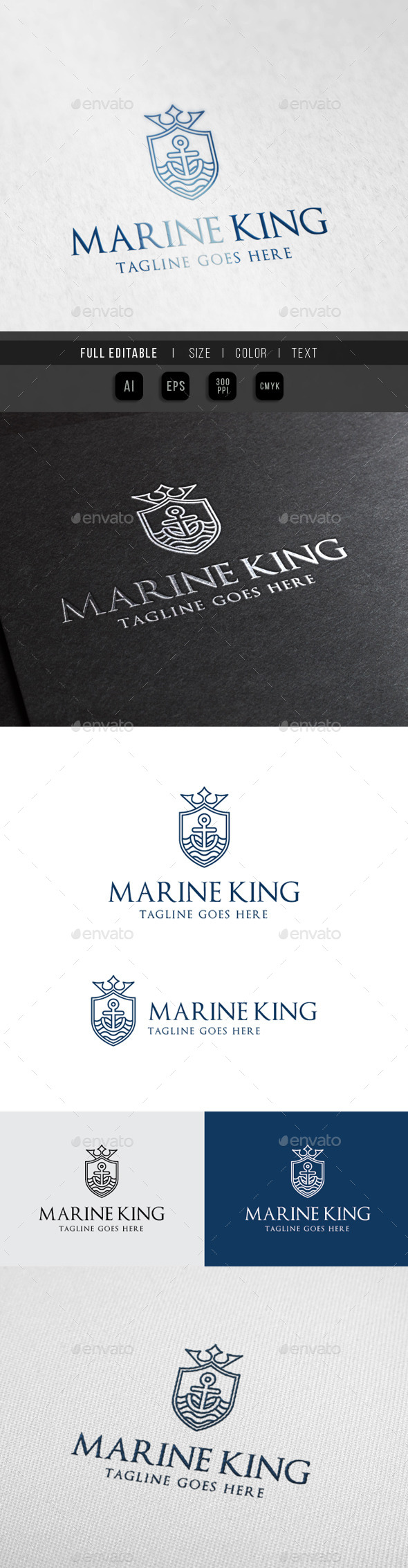 GraphicRiver Marine King Royal Ocean 10111470