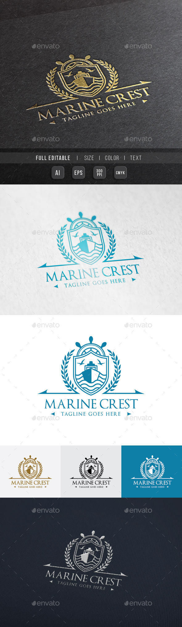 GraphicRiver Royal Marine Ship 10111478