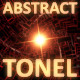 Glowing Abstract Tonel Red - VideoHive Item for Sale