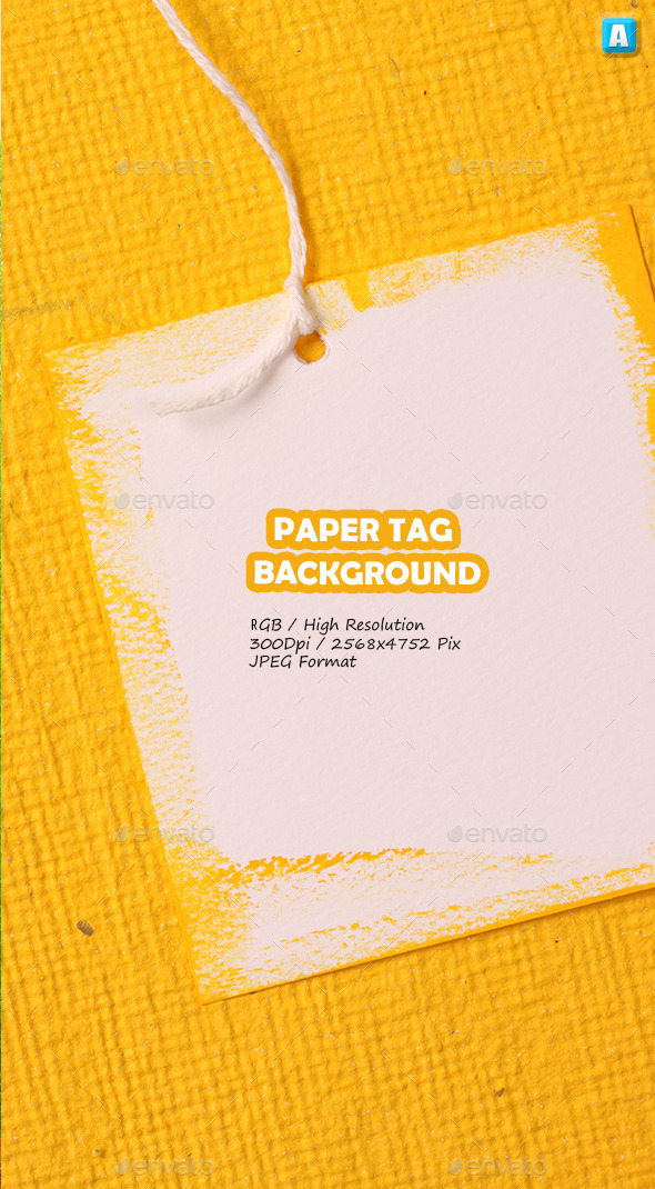 Paper Tag Background 0055