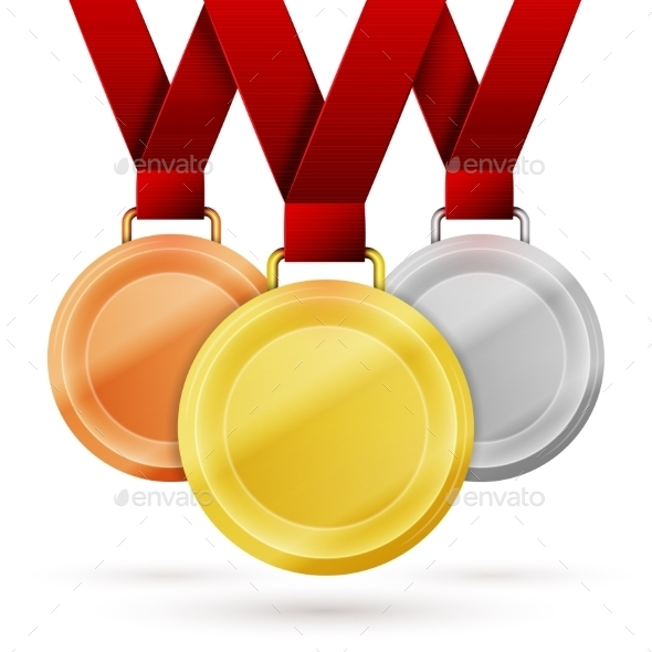 GraphicRiver Winner Medals 10111720