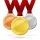 Winner Medals - GraphicRiver Item for Sale