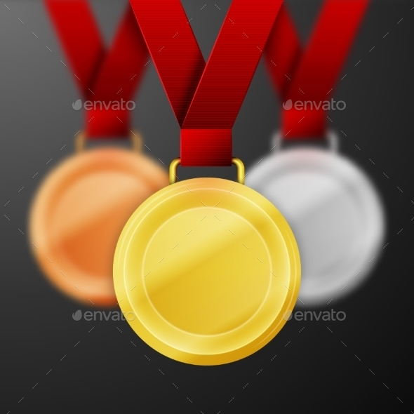 GraphicRiver Winner Medals 10111730