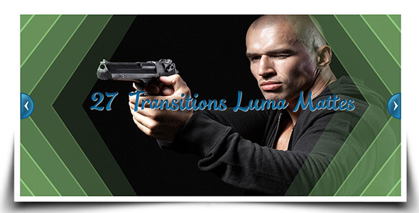 27 Transitions Luma Mattes