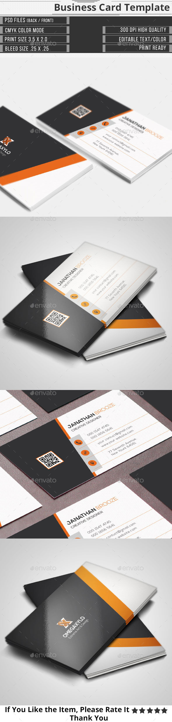 GraphicRiver Elegant Corporate Business Card 10111955