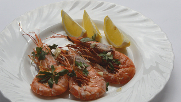 Mediterranean Food Shrimp 2