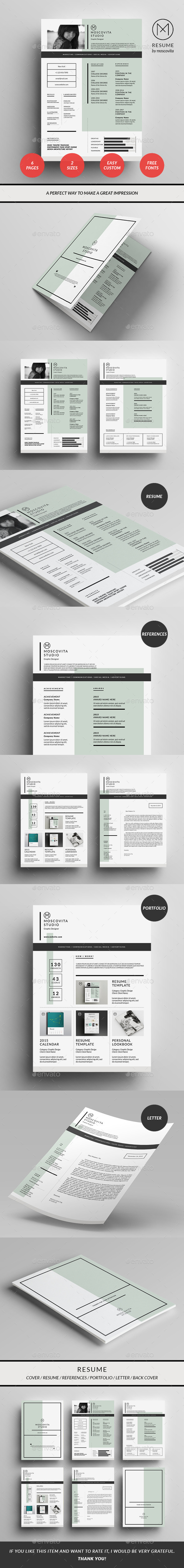 GraphicRiver Resume 10112322