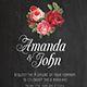 Wedding Invitation Flyer  vol.1 - GraphicRiver Item for Sale