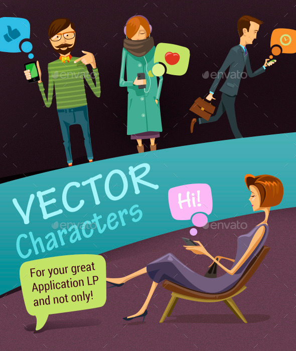 GraphicRiver Vector Characters 10053617
