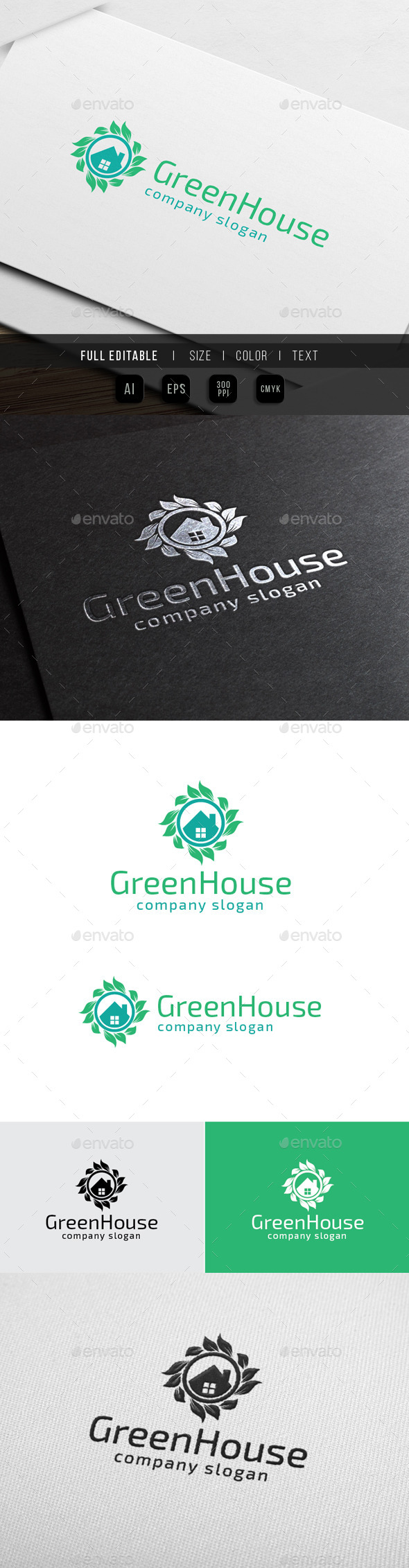 GraphicRiver Green House Herbal Clinic 10112737
