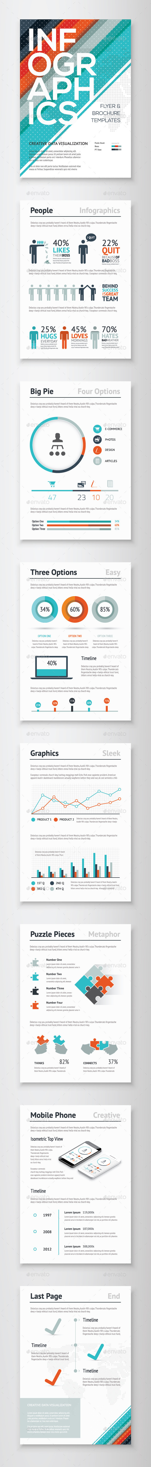 GraphicRiver Infographic Brochure Vector Elements Kit 3 10112753