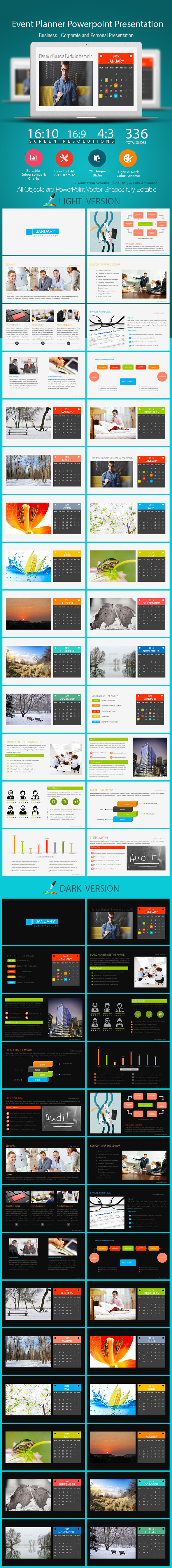 GraphicRiver Event Planner Power Point Presentation 10112945