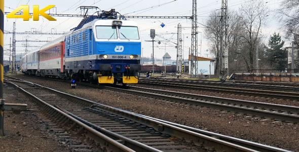 VideoHive Passenger Train 10113108