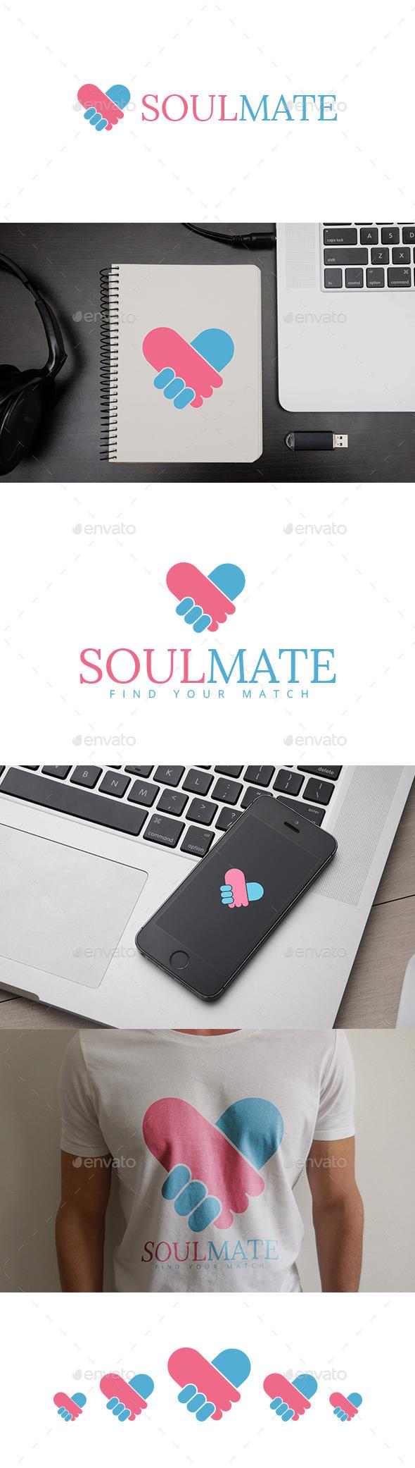 GraphicRiver SoulMate Logo 10088656