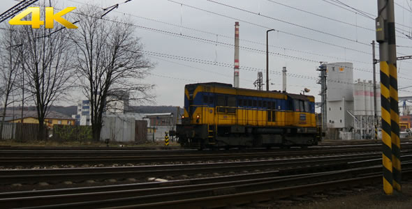 VideoHive Locomotive without Wagons 3 10113171