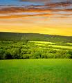 Sunset over National park Sumava - PhotoDune Item for Sale