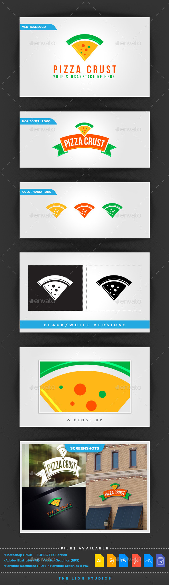GraphicRiver Pizza Crust 10113405