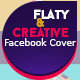 Flaty & Creative Facebook Timeline Cover - GraphicRiver Item for Sale