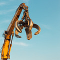 crane arm with open claw - PhotoDune Item for Sale