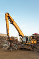 working equipment in recycling center - PhotoDune Item for Sale