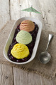 mixed ice cream on a plate - PhotoDune Item for Sale