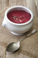 beetroot soup in a bowl - PhotoDune Item for Sale