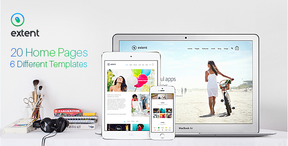 ThemeForest Extent Premium Multipurpose Responsive Template 10113977