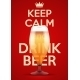 Vector Illustration Keep Calm And Drink Beer - GraphicRiver Item for Sale