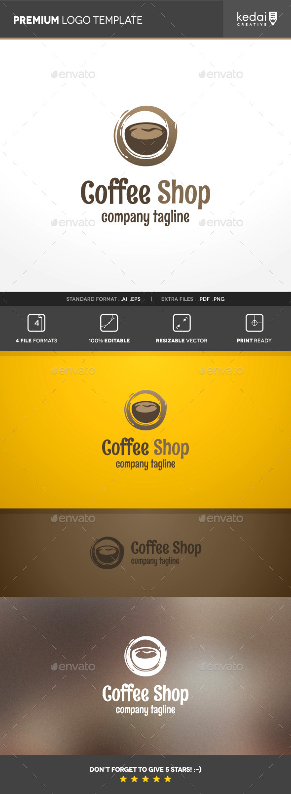 GraphicRiver Coffee Shop 10114097