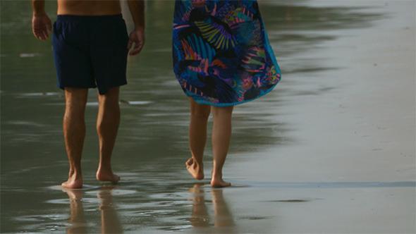 VideoHive Beach Walking 10114360