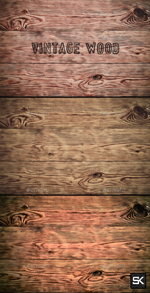 GraphicRiver Vintage Wood 10114702