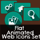 Flat Animated Web Icons Set - ActiveDen Item for Sale