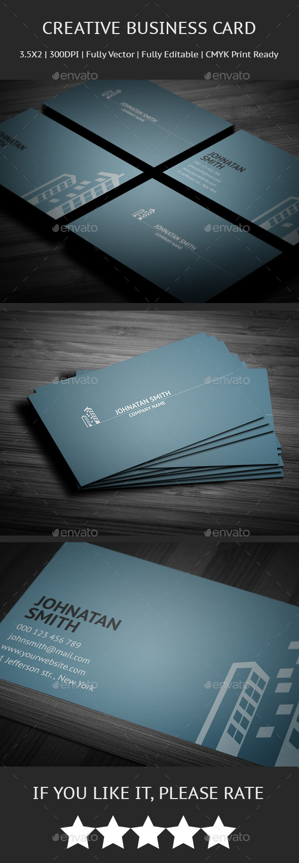 GraphicRiver Corporate Business Card 10061849