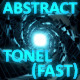 Glowing Abstract Tonel Blue - VideoHive Item for Sale