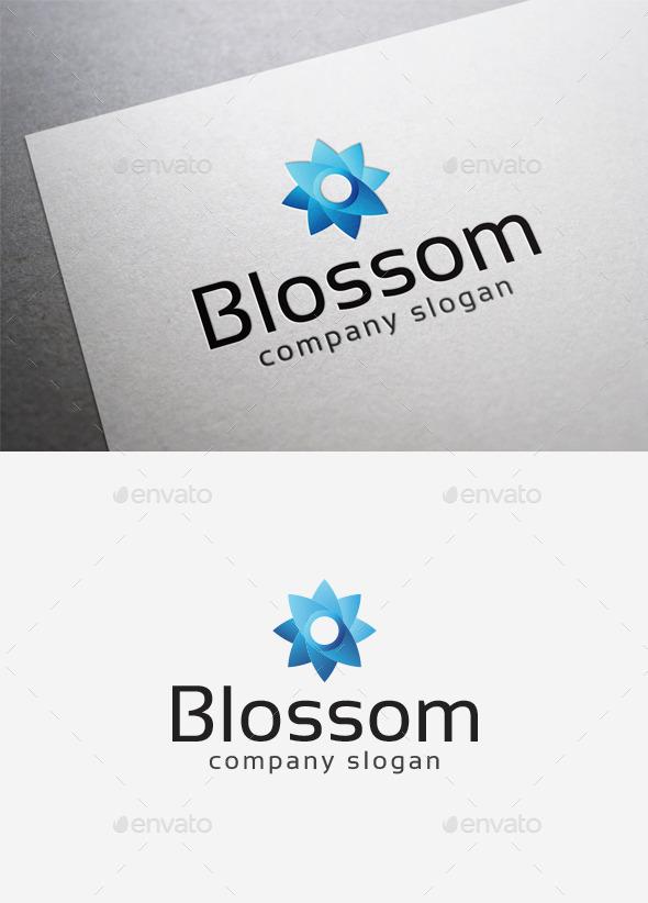 GraphicRiver Blossom Logo 10115220