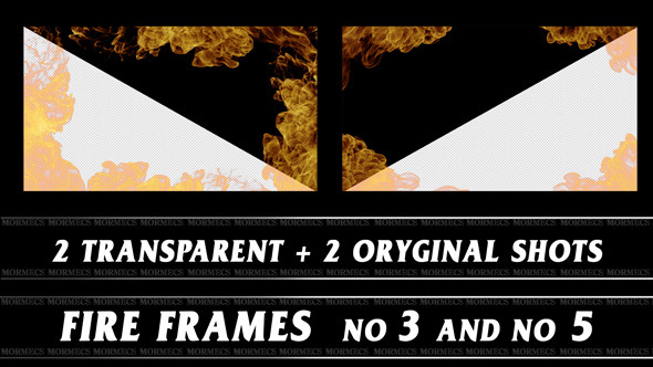 VideoHive Fire Frame No.3 10115337