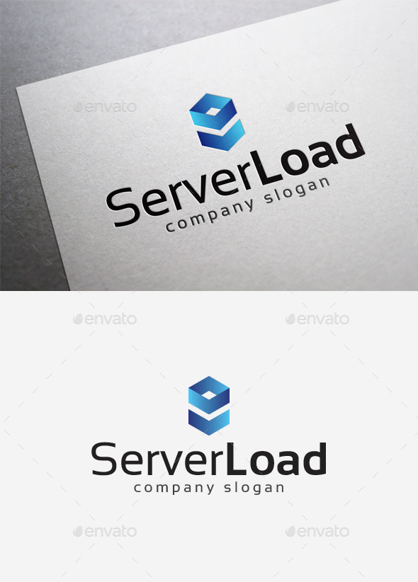 GraphicRiver Server Load Logo 10115394