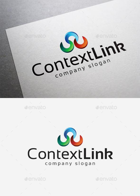GraphicRiver Context Link Logo 10115407