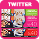 Multipurpose Twitter Header  - GraphicRiver Item for Sale