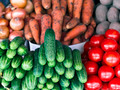 integers different fresh vegetables on the counter close-up - PhotoDune Item for Sale