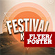 Festival Road Flyer Template - GraphicRiver Item for Sale