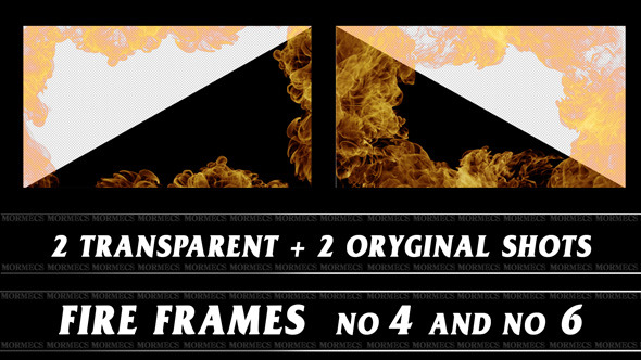 VideoHive Fire Frame No.4 10116255