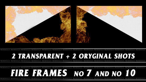 VideoHive Fire Frame No.7 10116638