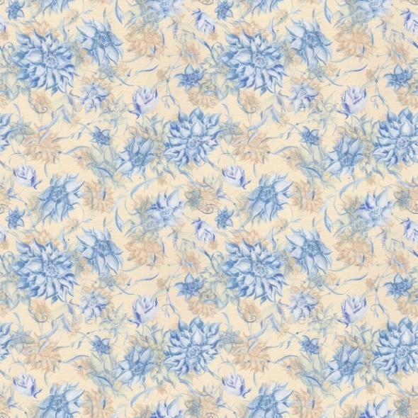 GraphicRiver Vintage Watercolor Pattern 10116669