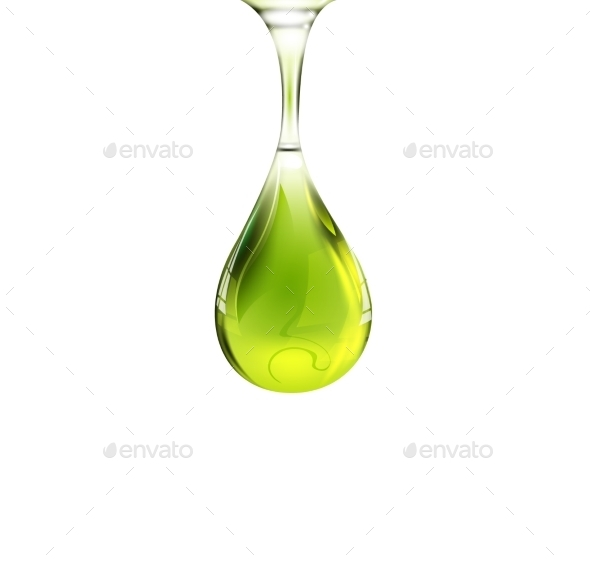 GraphicRiver Olive Oil Drop 10116753