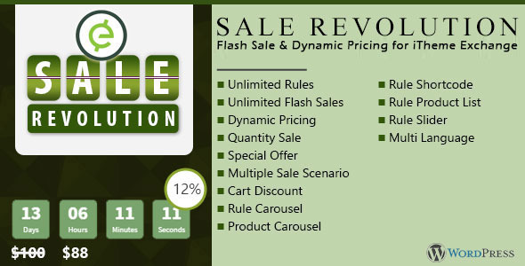 CodeCanyon Exchange Sale Revolution All in One Sale Plugin 10116872