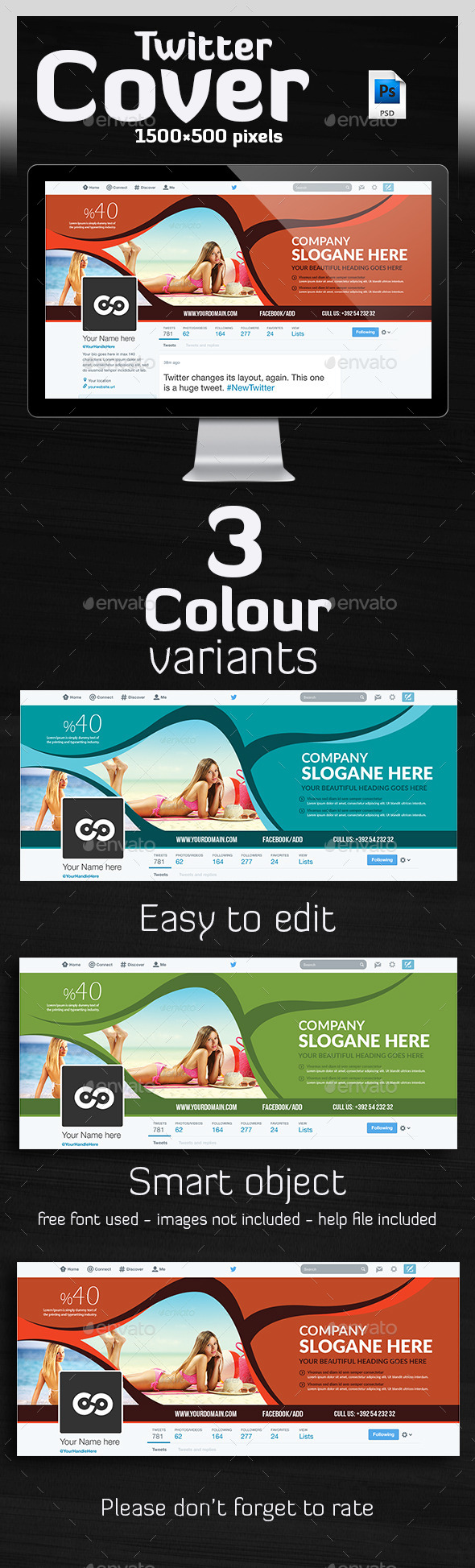 GraphicRiver Tourism Twitter Header 10116913