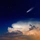 Comet in sky - PhotoDune Item for Sale