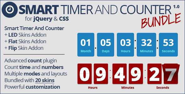 CodeCanyon Smart Timer and Counter Bundle 10117411