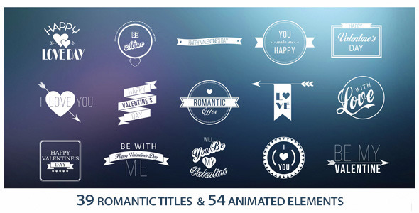 39 Titles Romantic
